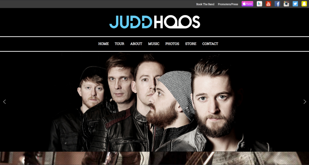 Judd Hoos Website
