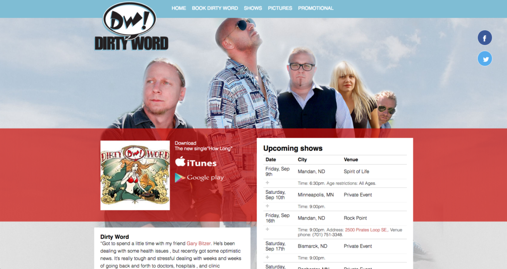 Dirty Word Website