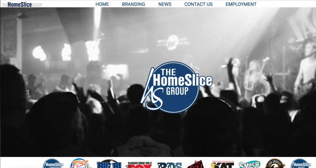 The HomeSlice Group Website